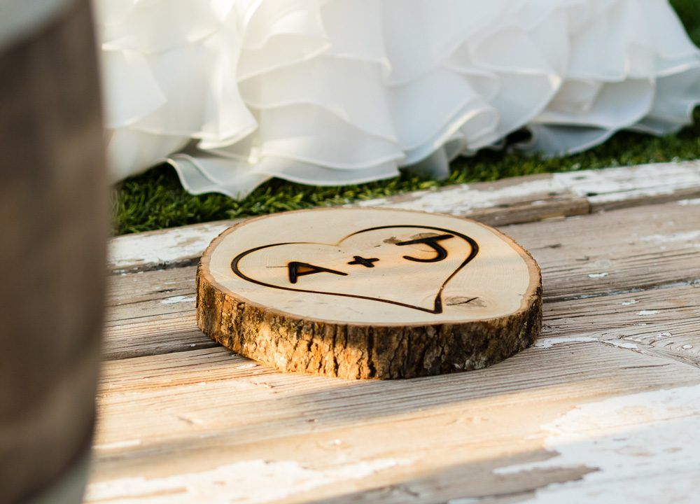 wood, brand, initials, heart, tradition, wedding