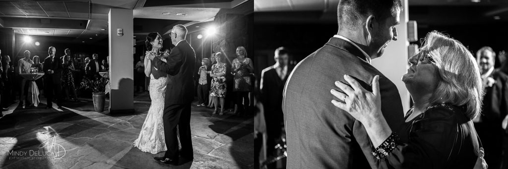 Mother and Father wedding dance