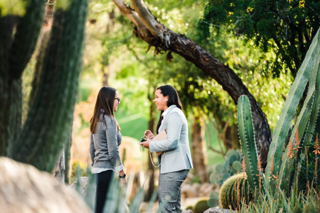 surprise wedding proposal phoenix garden