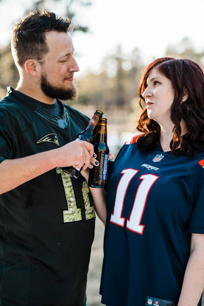toast beers patriots jerseys