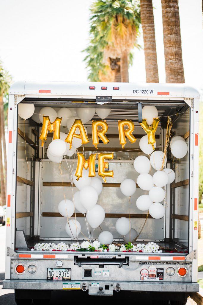 Unique Marriage Proposal