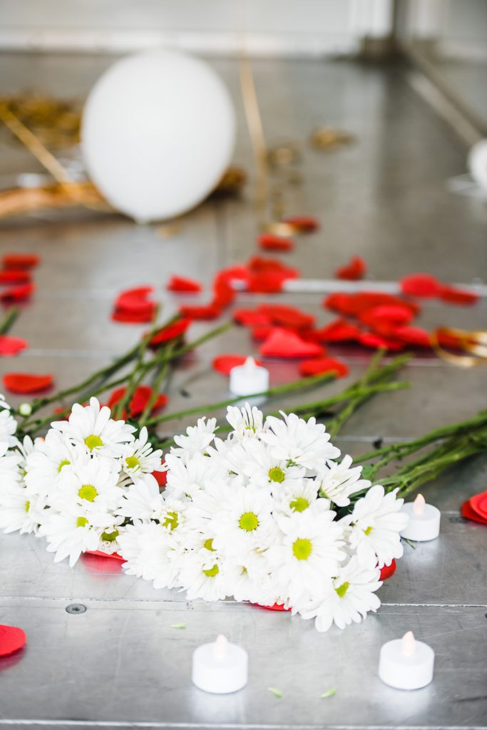 Proposal details flowers