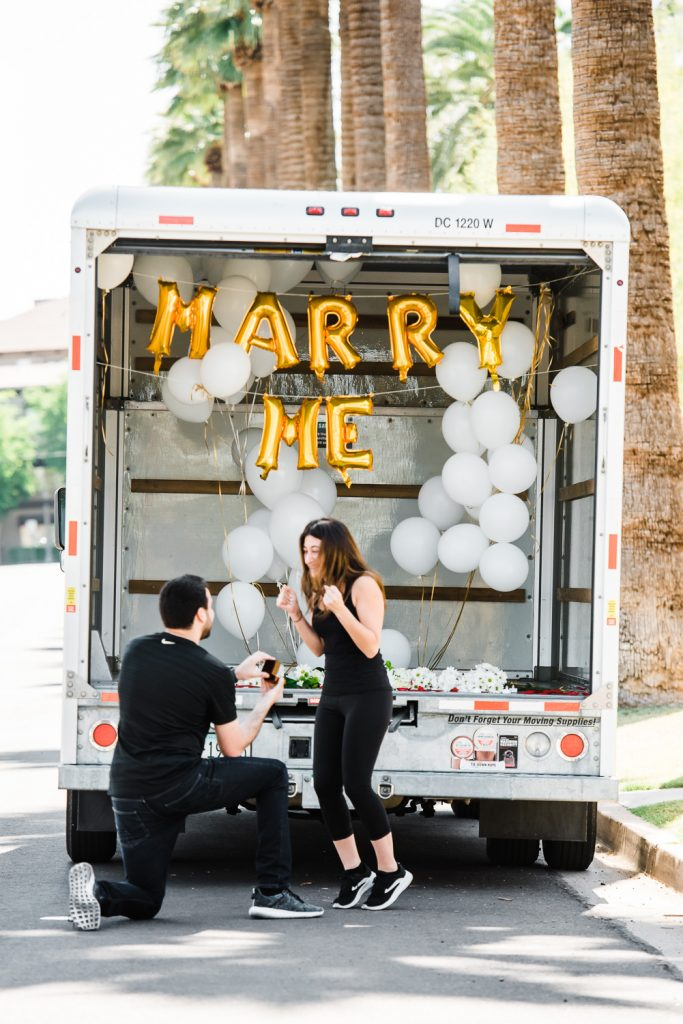 Exciting Marriage Proposal