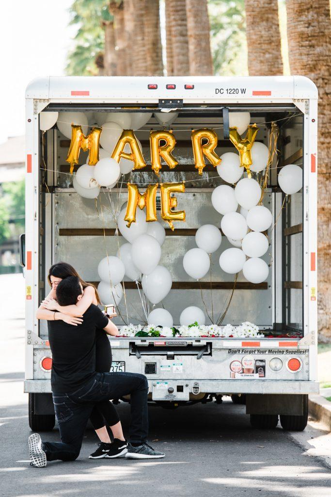 Sweet Marriage Proposal
