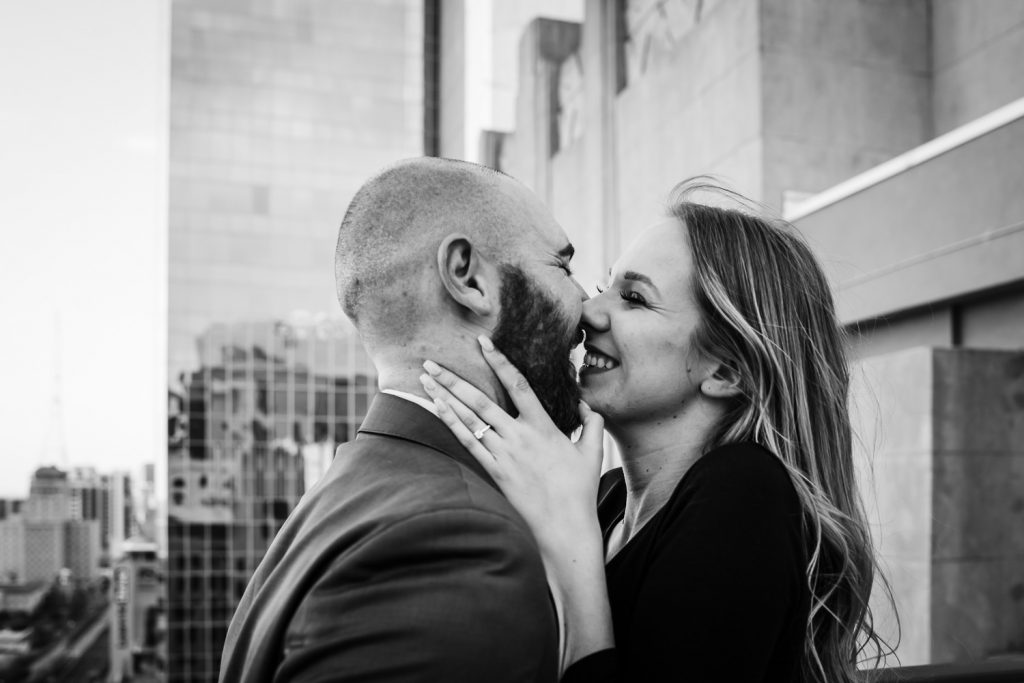 romantic sweet fun engagement photos