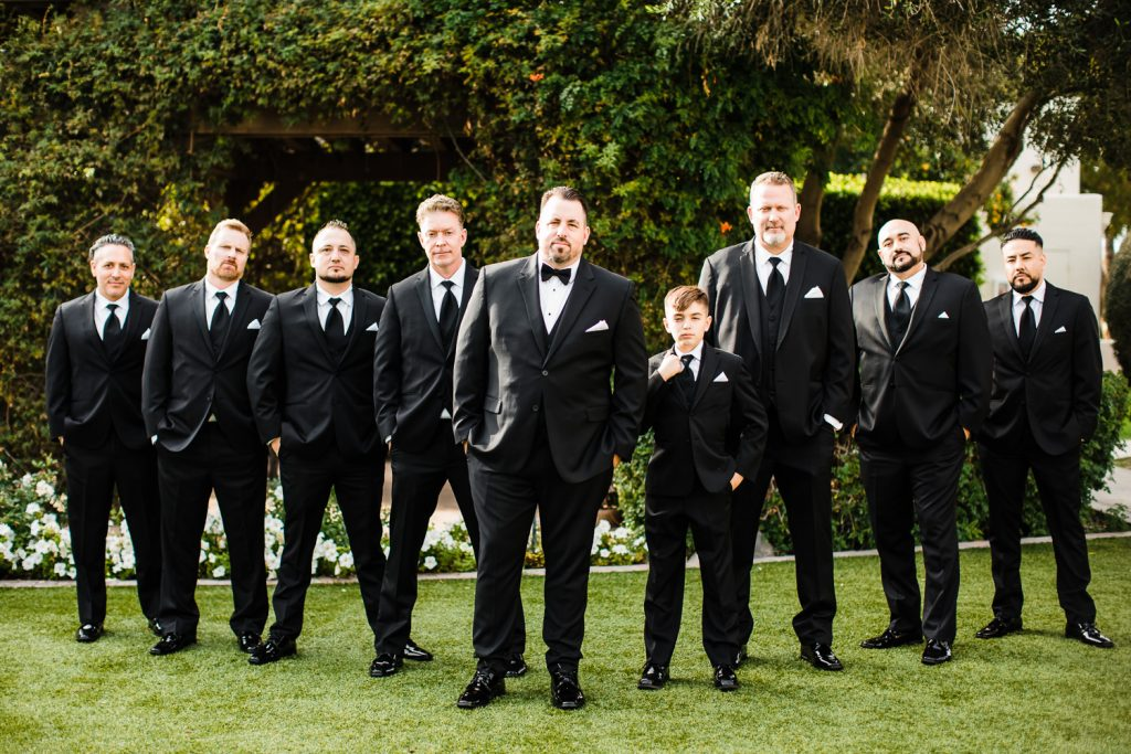 Groomsmen Flying V