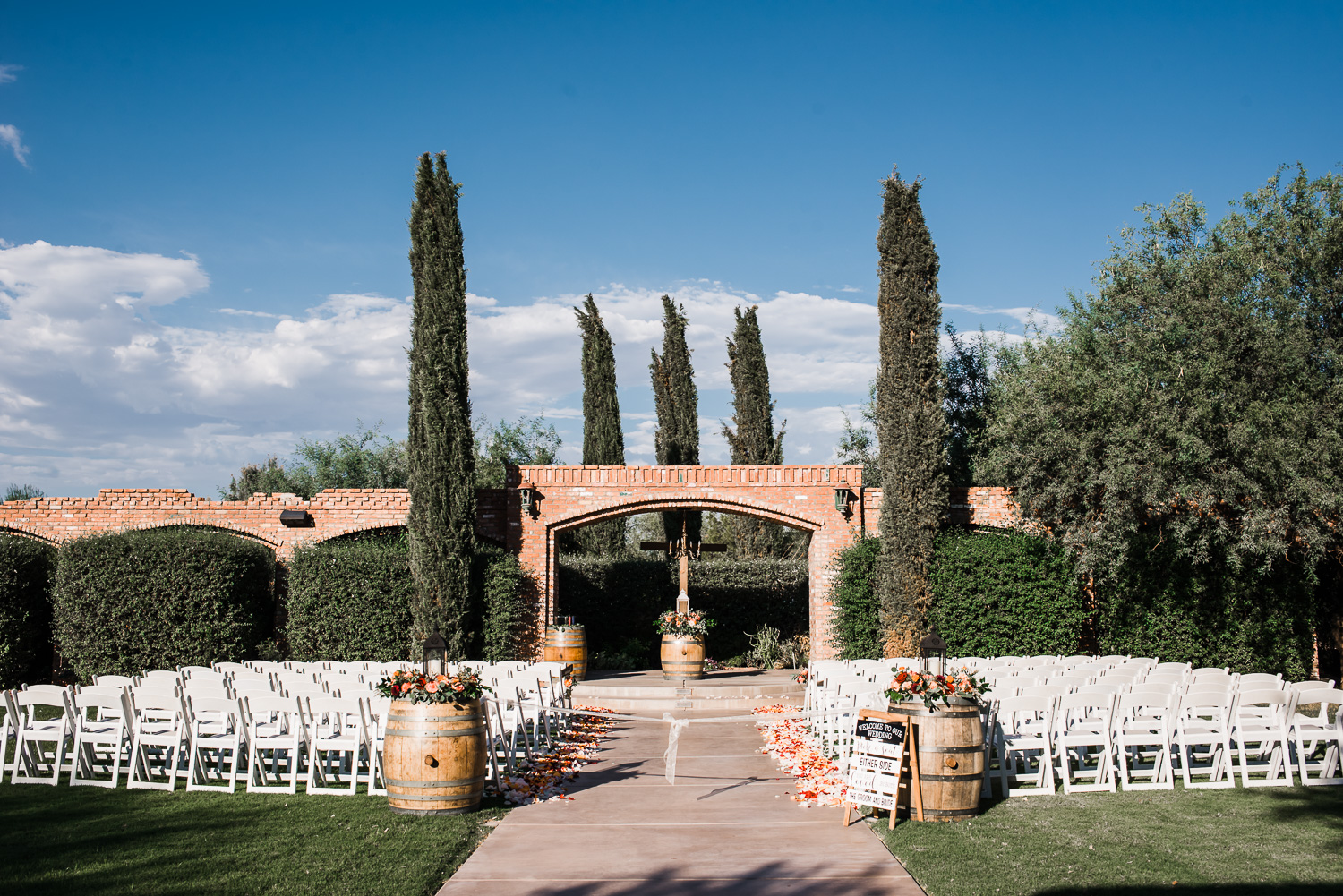 Windmill Winery Arches Wedding