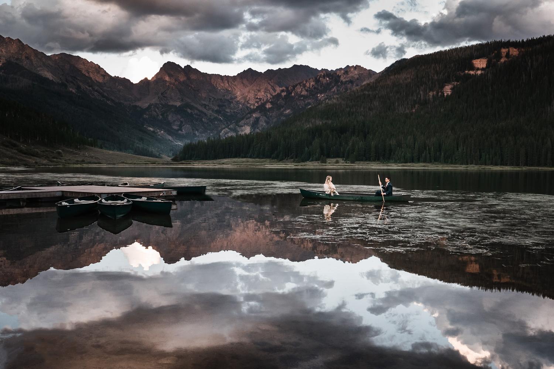 Piney River Ranch Vail Mountain Lake Wedding